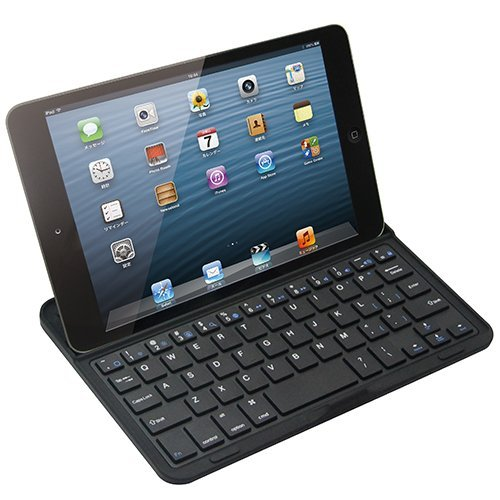 Bluetoothキーボード アルミケース iPad mini/2/3対応_0