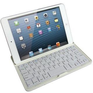 Bluetoothキーボード アルミケース iPad mini/2/3対応