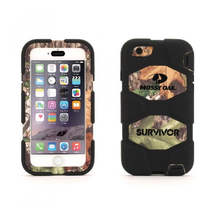 【iPhone6s/6ケース】Survivor 防塵防滴耐落下 MossyOakコラボケース OBS iPhone 6s/6_0