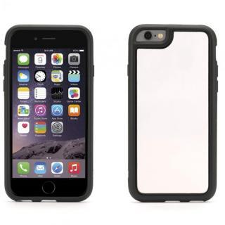 【iPhone6ケース】Identity 防砕性ガラス使用 バックミラーケース ブラック iPhone 6_1