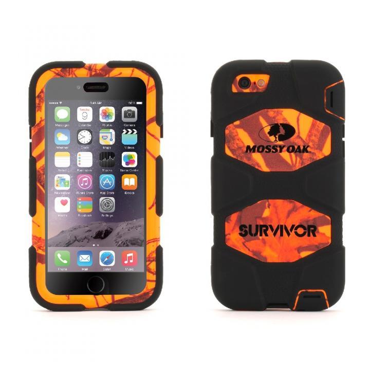 【iPhone6ケース】Survivor 防塵防滴耐落下 MossyOakコラボケース MBZ iPhone 6_0