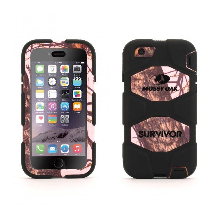 【iPhone6ケース】Survivor 防塵防滴耐落下 MossyOakコラボケース PBU iPhone 6_0