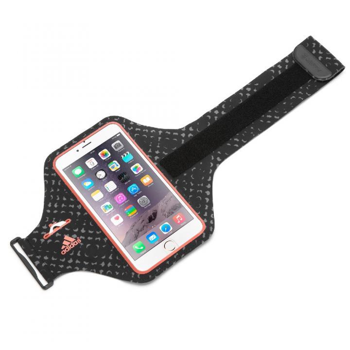 【iPhone6 Plusケース】Adidas 軽量ナイロンアームバンドケース レッド iPhone 6 Plus_0