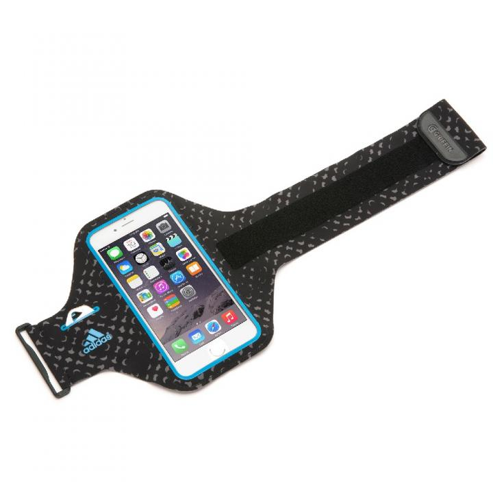 Adidas 軽量ナイロンアームバンドケース ブルー iPhone 6