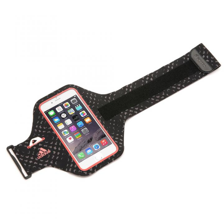 iPhone6 ケース Adidas 軽量ナイロンアームバンドケース レッド iPhone 6_0