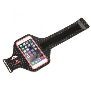 【iPhone6ケース】Adidas 軽量ナイロンアームバンドケース レッド iPhone 6