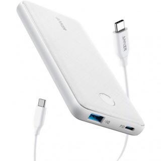 Anker PowerCore Slim 10000 PD モバイルバッテリー ホワイト