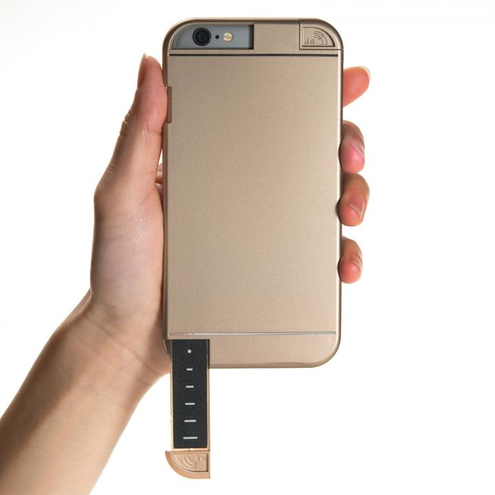 3G/4G シグナル拡張ケース LINKASE PRO ゴールド iPhone 6s/6