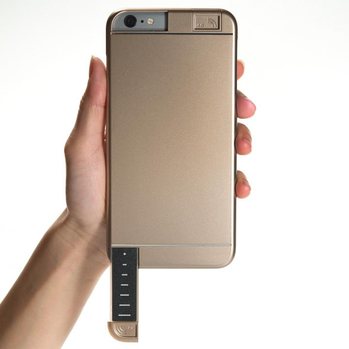 iPhone6s Plus/6 Plus ケース 3G/4G シグナル拡張ケース LINKASE PRO ゴールド iPhone 6s Plus/6 Plus_0
