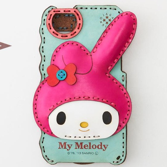 iPhone SE/5s/5 サンリオ マイメロディ パールブルー iPhone SE/5s/5ケース_0