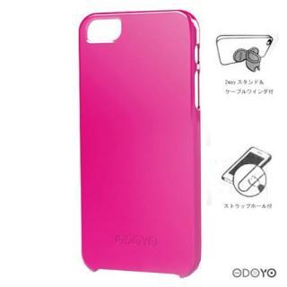 【iPhone SE ケース】ODOYOヴィヴィッドプラス/オペラピンク iPhone SE/5s/5ケース