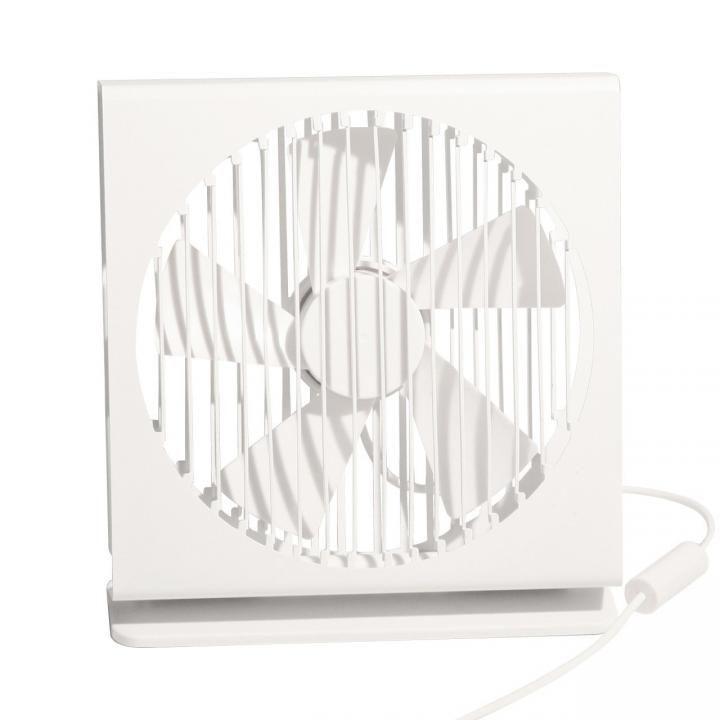 VH  置き型 USB ファン 扇風機 ホワイト_0