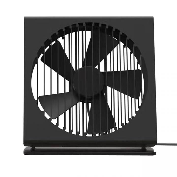 VH  置き型 USB ファン 扇風機 ブラック_0