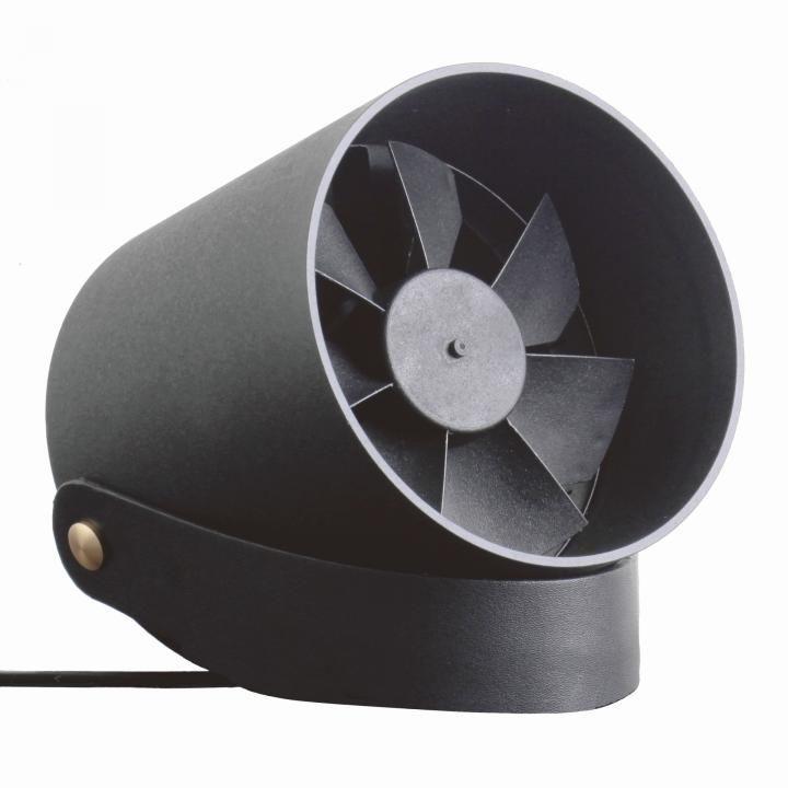 VH  スマート USB ファン 扇風機 タッチセンサー コントロール ブラック_0