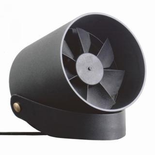VH  スマート USB ファン 扇風機 タッチセンサー コントロール ブラック【7月上旬】