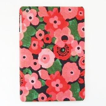 スマホの洋服屋 ポピー レッド iPad mini/2/3ケース_0