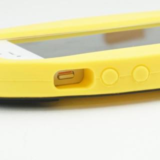 【iPhone SE/5s/5ケース】バットマン iPhone5専用 シリコンカバー ロゴYE_5