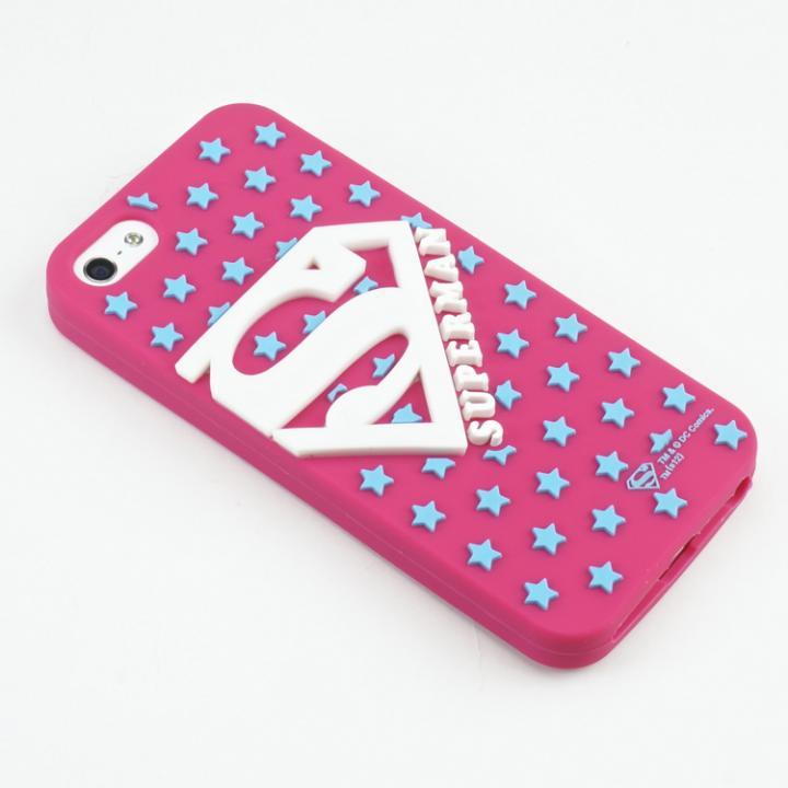 【iPhone SE/5s/5ケース】スーパーマン iPhone5専用 シリコンカバー PK_0