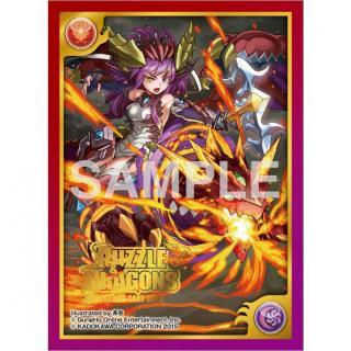 パズル&ドラゴンズTCG カードスリーブ 現世の赤龍喚士・ソニア