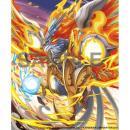 パズル&ドラゴンズTCG カードスリーブ 白光炎隼神・ホルス