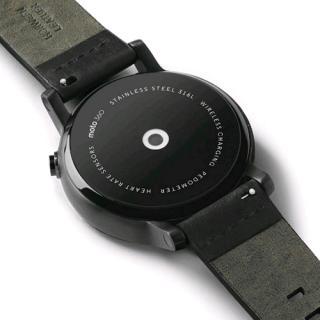 タイムリーに情報を把握 スマートウォッチ iOS対応 Moto 360 Mens 42mm ブラック/ブラックレザー_1