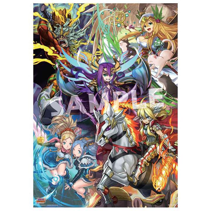 パズル&ドラゴンズTCGポスター