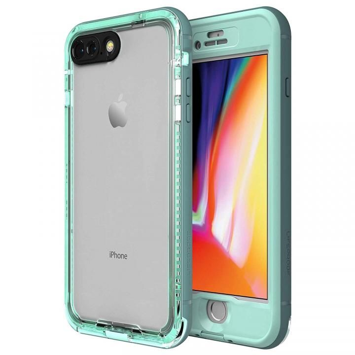 iPhone8 Plus ケース LifeProof Nuud Series 防水・防塵・防雪・耐衝撃ケース Cool Mist iPhone 8 Plus【8月下旬】_0