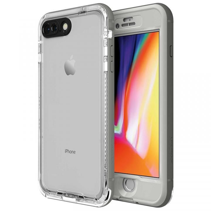 iPhone8 Plus ケース LifeProof Nuud Series 防水・防塵・防雪・耐衝撃ケース Snowcapped iPhone 8 Plus_0