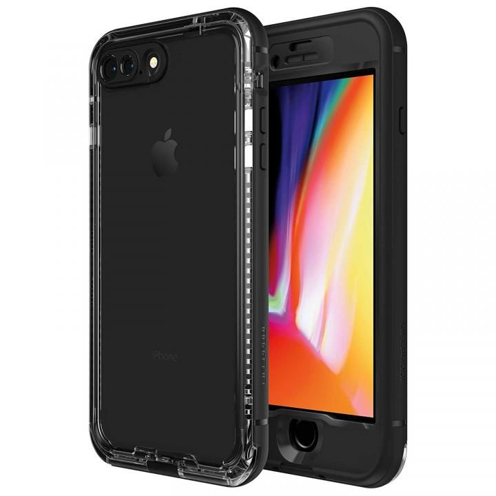 【iPhone8 Plusケース】LifeProof Nuud Series 防水・防塵・防雪・耐衝撃ケース Black iPhone 8 Plus_0