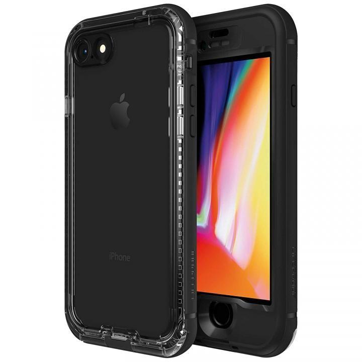 【iPhone8ケース】LifeProof Nuud Series 防水・防塵・防雪・耐衝撃ケース Black iPhone 8_0
