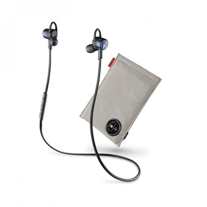 Bluetooth ステレオヘッドセット BackBeat GO3 充電ケース付 コバルトブラック_0