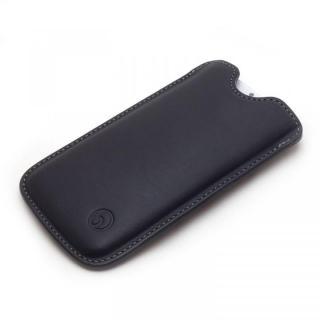 【iPhone6ケース】ハンドメイド レザースリーブケース ブラック iPhone 6