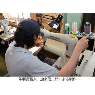 【iPhone6ケース】ハンドメイド レザースリーブケース ブルー iPhone 6_5