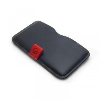 ハンドメイド レザースリーブケース ブラック iPhone 6 Plus
