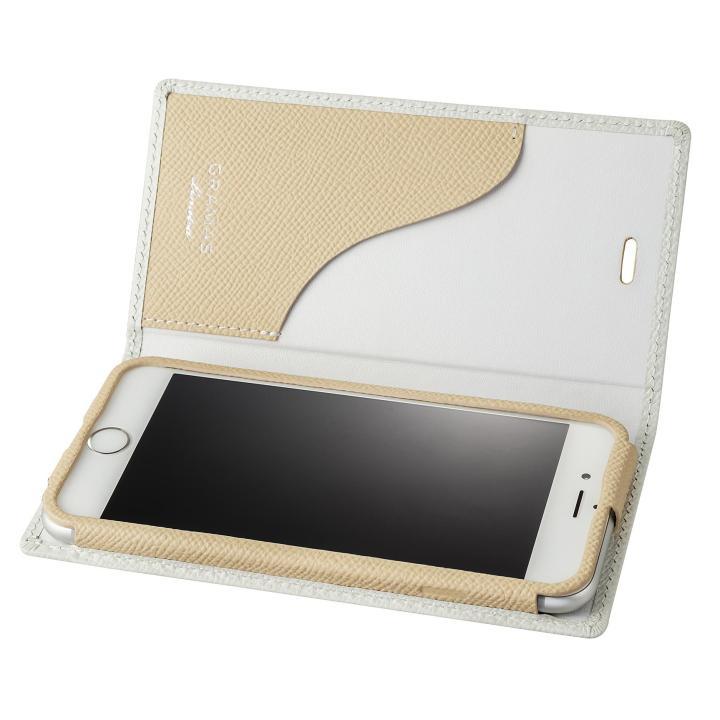 【iPhone6s/6ケース】GRAMAS フルレザーケース The Safari LTD 2016SS for iPhone 6s/6 ホワイト_0