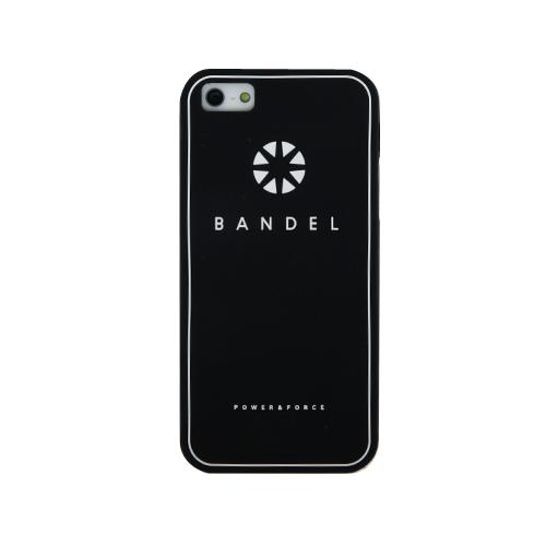 iPhone SE/5s/5 ケース BANDEL iPhone SE/5s/5ケース ロゴ ブラック_0