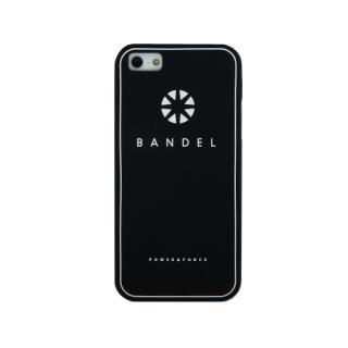 iPhone SE/5s/5 ケース BANDEL iPhone SE/5s/5ケース ロゴ ブラック