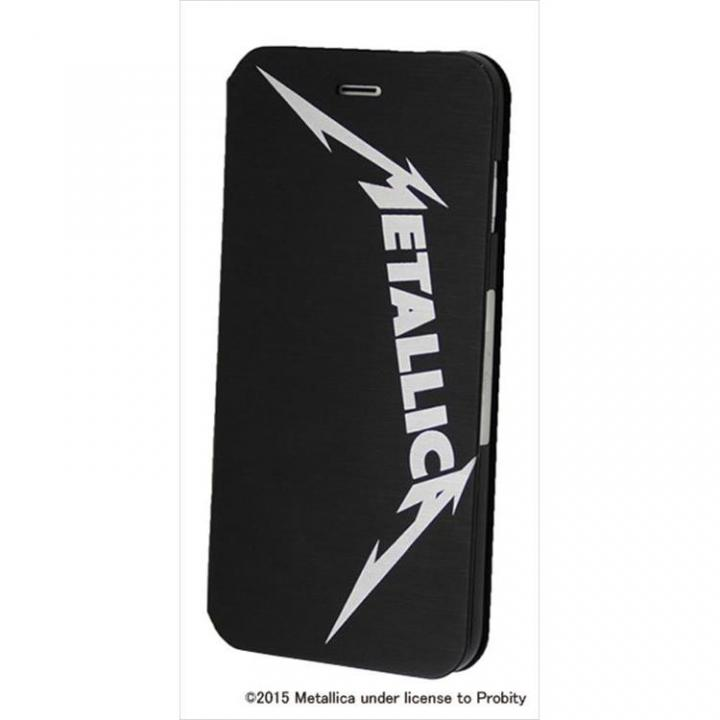 Rock Spirit METALLICA PUレザー手帳型ケース バンドロゴ iPhone 6 Plus