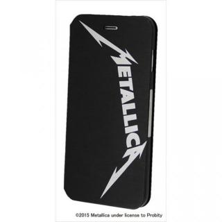【iPhone6 Plusケース】Rock Spirit METALLICA PUレザー手帳型ケース バンドロゴ iPhone 6 Plus
