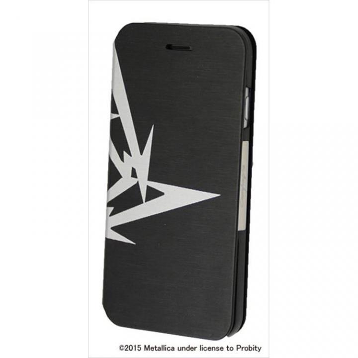 iPhone6 ケース Rock Spirit METALLICA PUレザー手帳型ケース 忍者スターロゴ iPhone 6_0