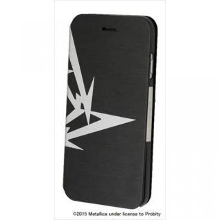 【iPhone6ケース】Rock Spirit METALLICA PUレザー手帳型ケース 忍者スターロゴ iPhone 6