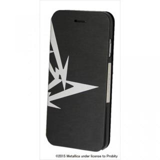【iPhone6 Plusケース】Rock Spirit METALLICA PUレザー手帳型ケース 忍者スターロゴ iPhone 6 Plus