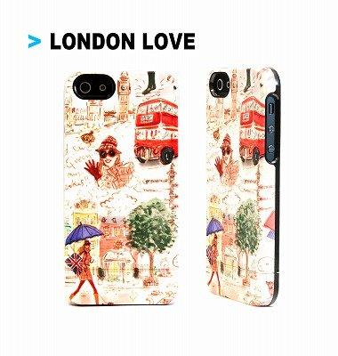 iPhone SE/5s/5 ケース Uncommon iPhone SE/5s/5用カプセルケース London Love_0