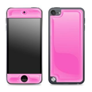[百花繚乱セール]Glow Gel Skin iPod touch5 ピンク