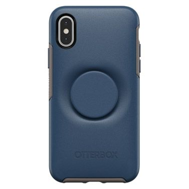 iPhone XS/X ケース Otter + Pop SYMMETRY GO TO BLUE iPhone XS/X_0