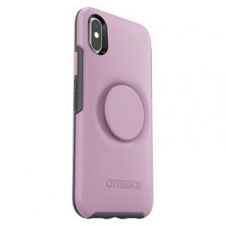 iPhone XS/X ケース Otter + Pop SYMMETRY MAUVEOLOUS iPhone XS/X