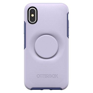 iPhone XS/X ケース Otter + Pop SYMMETRY LILAC DUSK iPhone XS/X_0