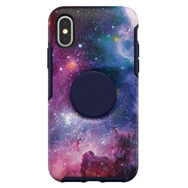 iPhone XS/X ケース Otter + Pop SYMMETRY BLUE NEBULA iPhone XS/X【8月上旬】_0