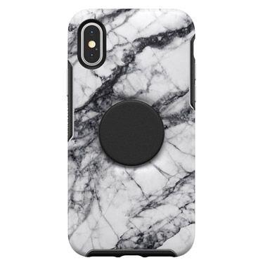 iPhone XS/X ケース Otter + Pop SYMMETRY WHITE MARBLE iPhone XS/X_0