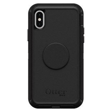 iPhone XS/X ケース Otter + Pop DEFENDER BLACK iPhone XS/X_0